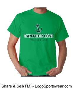 Panther Cove Yacht Club T-Shirt Design Zoom