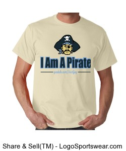 I Am A Pirate Design Zoom